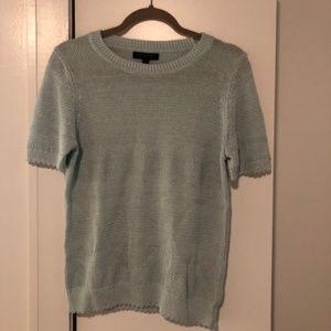 Banana Republic Italian Linen Teal Sweater, Size M